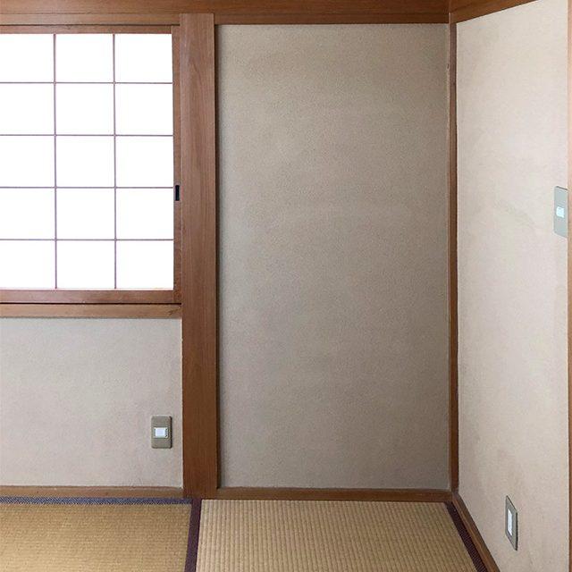 和室の壁のリフォーム