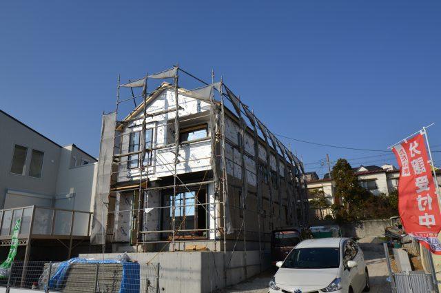 霞ヶ丘<進捗状況>&モデルハウスのご案内